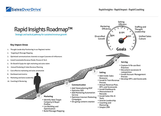 sales consulting roadmap